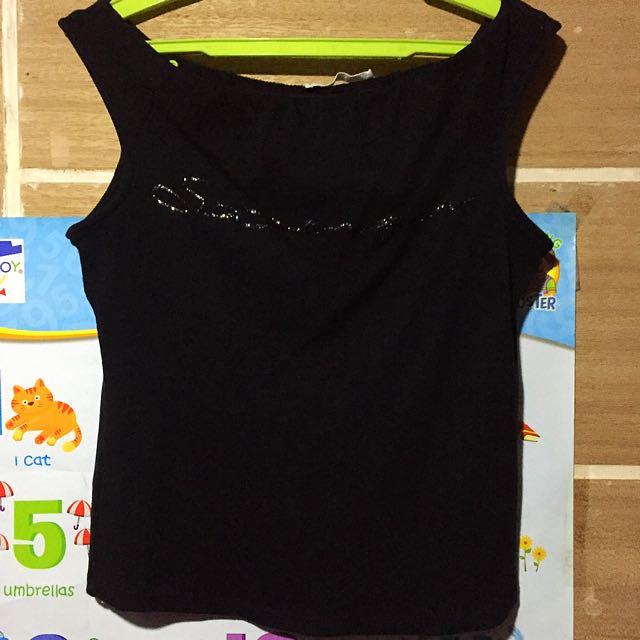 Mango sleeveless blouse