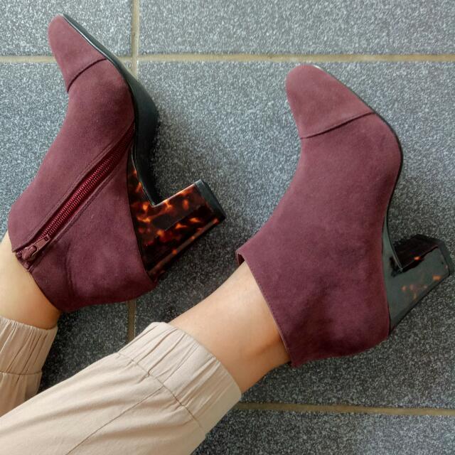 Maroon Boots - Beli Ketika di Jepang (Repriced) murah