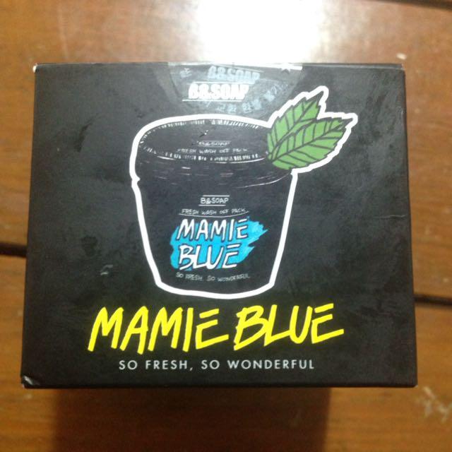 Masker korea Mamie Blue