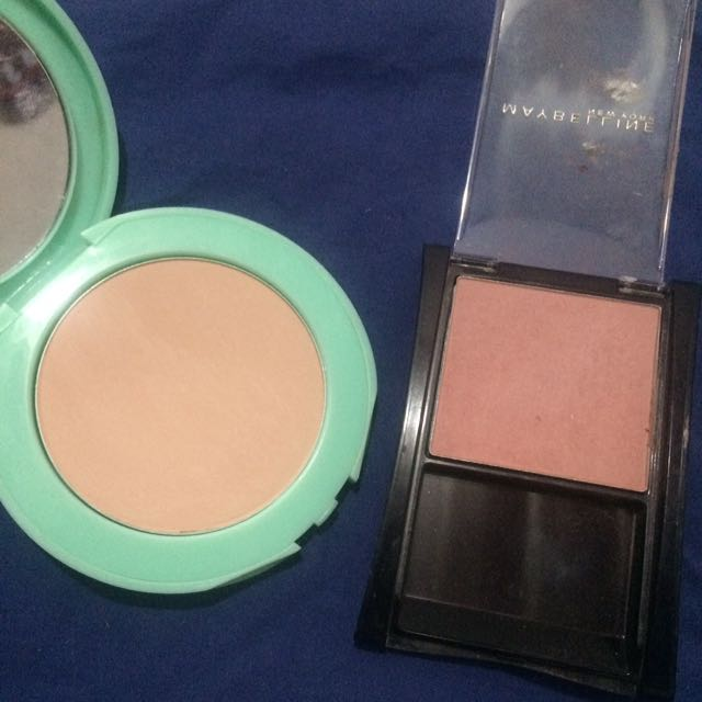 Maybelline blush On And Face Powder