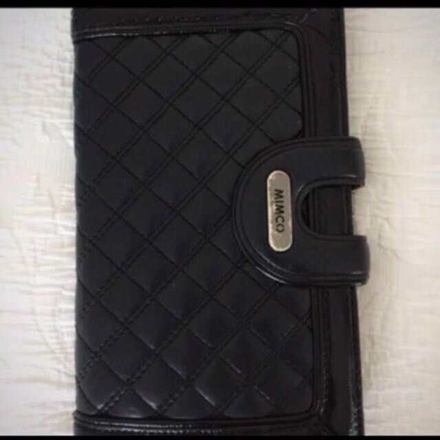 Mimco Travel Purse With Inbuilt Mirror