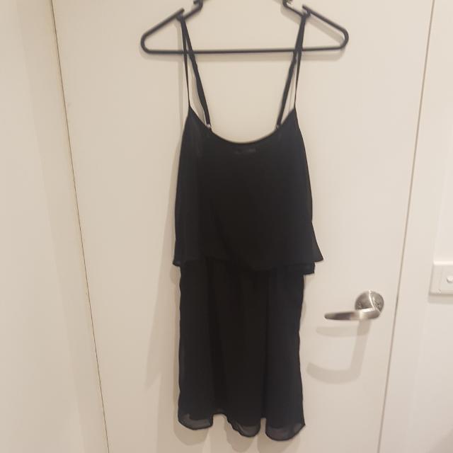 MNG Black Dress  - XS
