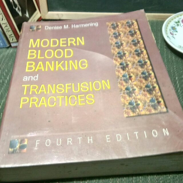 Modern Blood Banking And Transfusion Practices 4th Edition