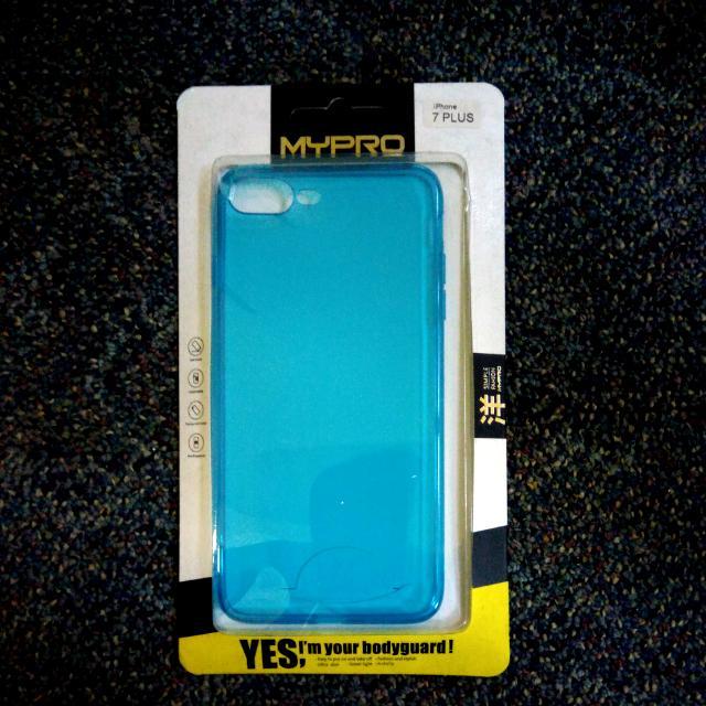 iPhone 7 Plus Mypro Blue Ultra Thin Jelly Case