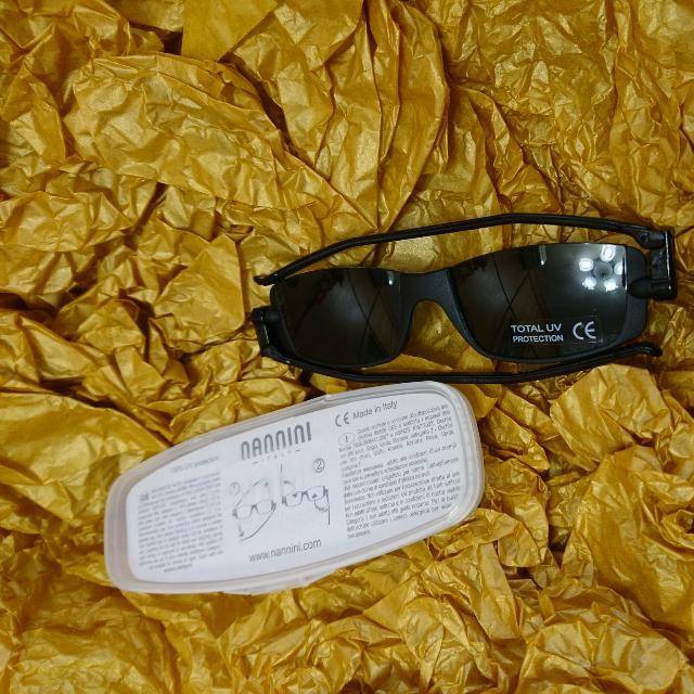 NANNINI 100% UV protection 義大利摺疊眼鏡
