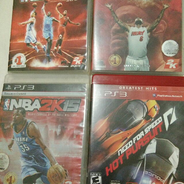 NBA 2K COLLECTION with free Need for speed Hot Pursuit