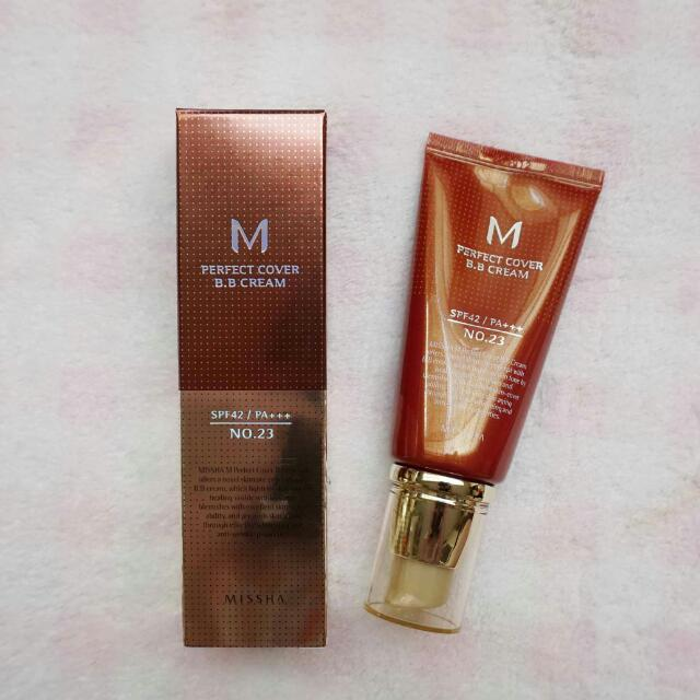 NEW - Missha Perfect Cover BB Cream #Natural Beige