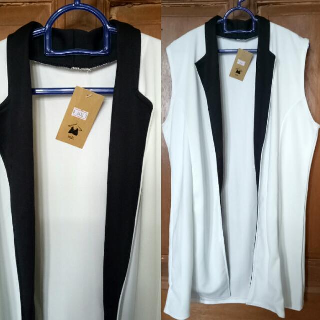 (New) Monochrome Vest