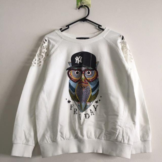 Owl Print Pullovers