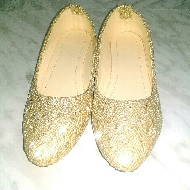 Party Shoes/ Flats - Size 40