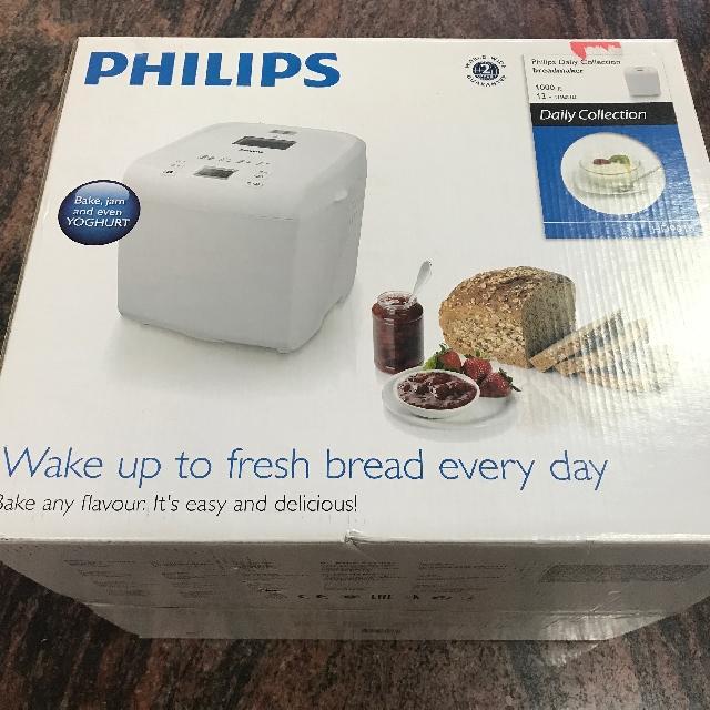 PHILIPS 飛利浦 麵包製造機 HD9016/麵包機/製麵包機/多功能/家電