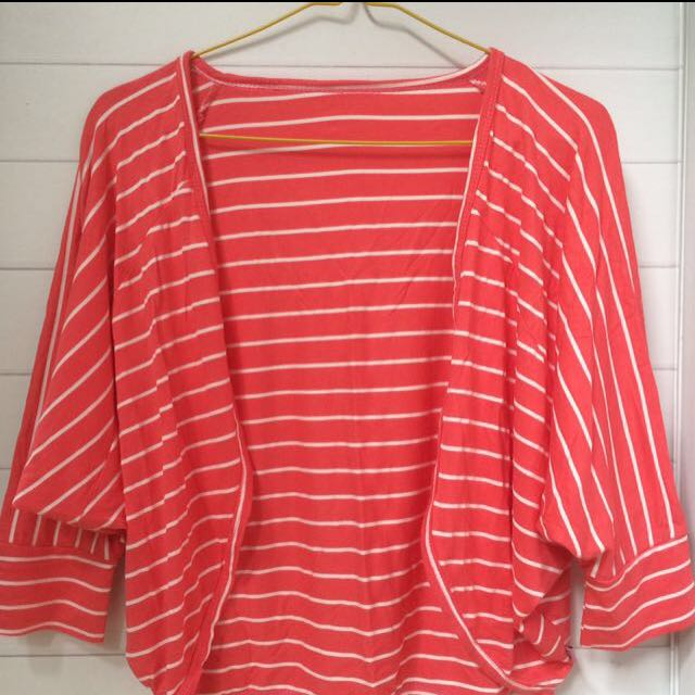 PINK STRIPED OUTER