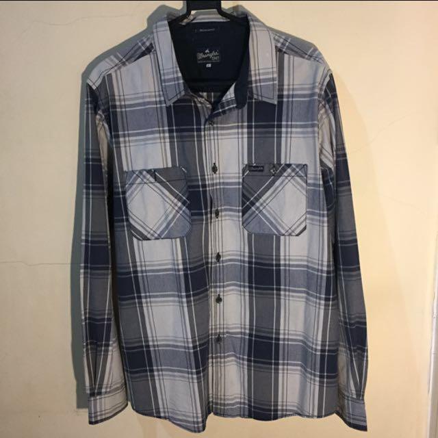 Plaid Shirt by Wrangler ( Kemeja Kotak - Kotak )