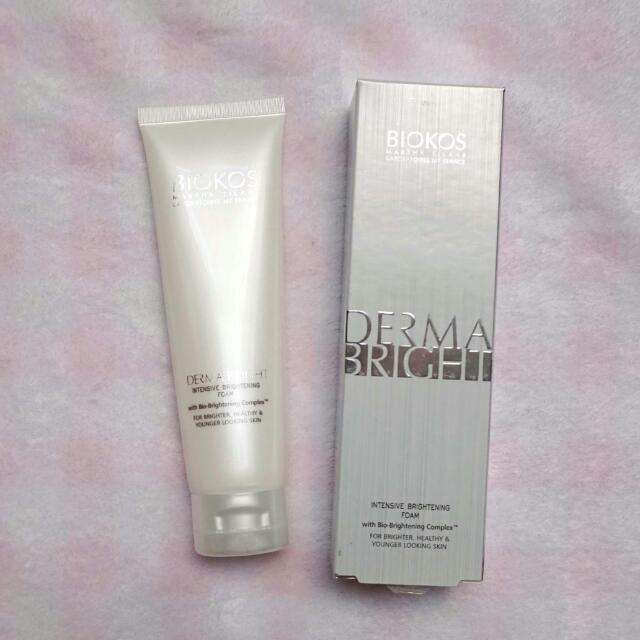 NEW - Biokos Derma Bright Intensive Brightening Foam
