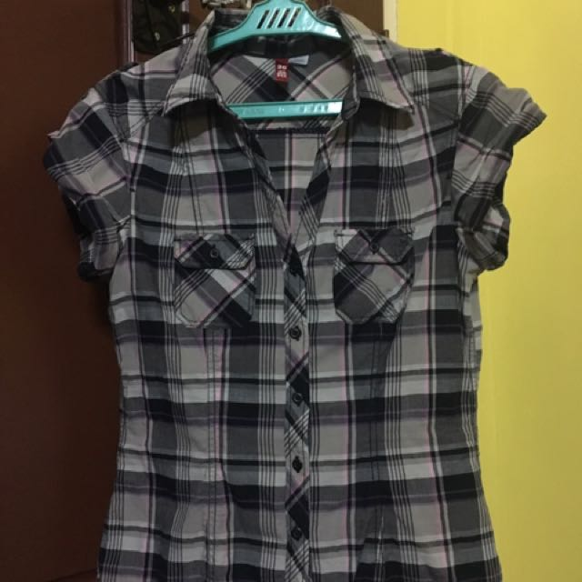 Preloved Checkered Top