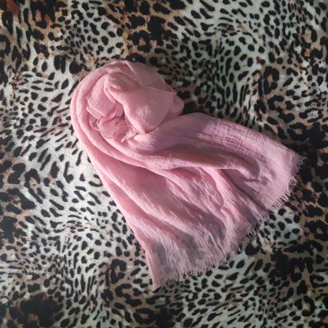 Preloved Pashmina Pink