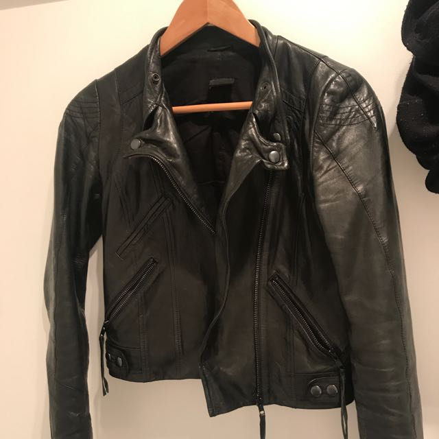 BISONTE LEATHER JACKET AUTHENTIC