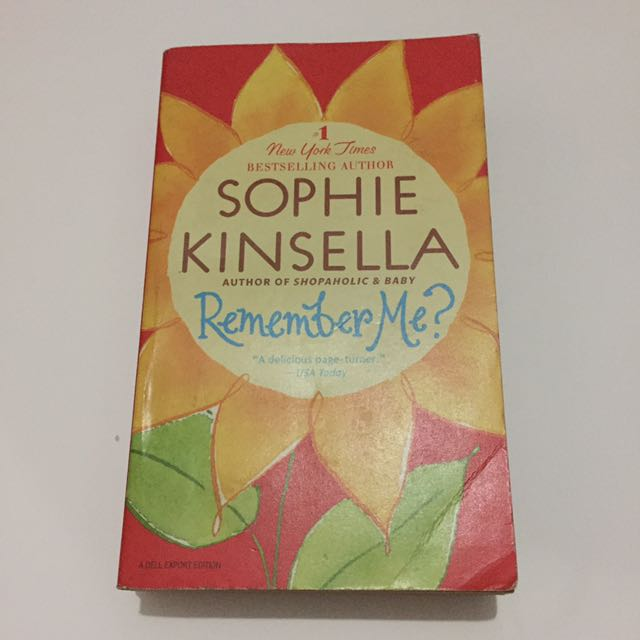 Remember Me? by Sophie Kinsella (Paperback)