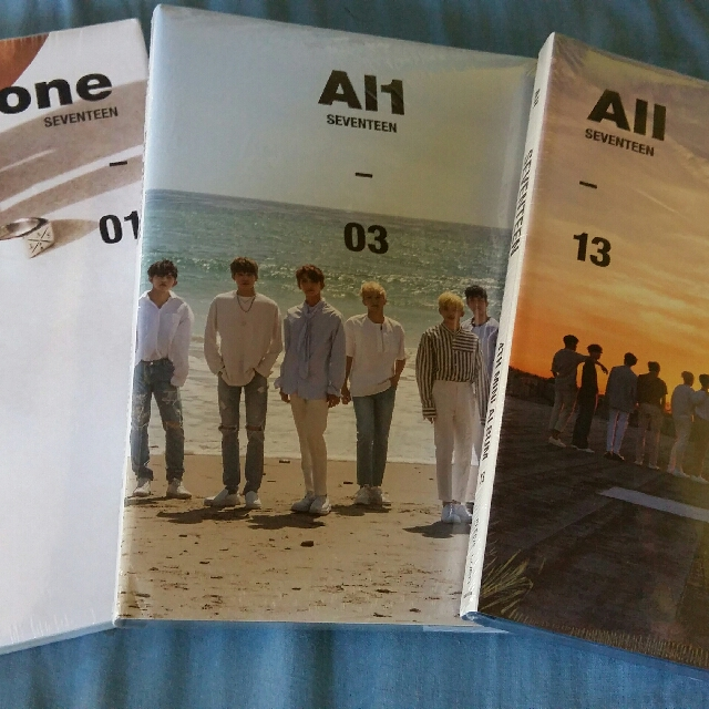 SEVENTEEN 4th Album AL1 ALL VERSION