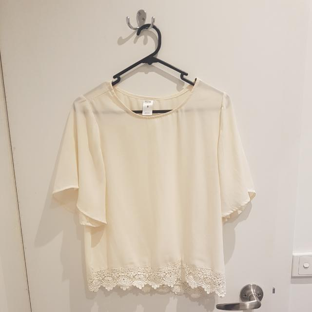 Sheer Top - Size 8
