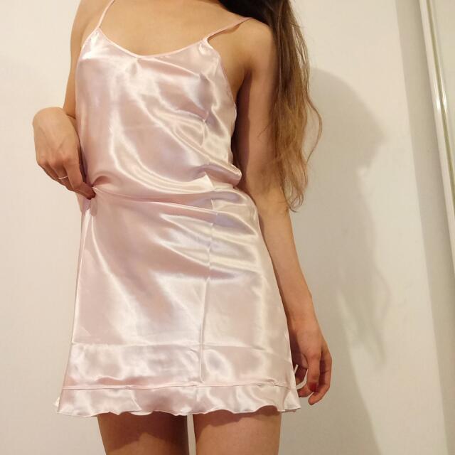 Silky Baby Pink Slip Size 8