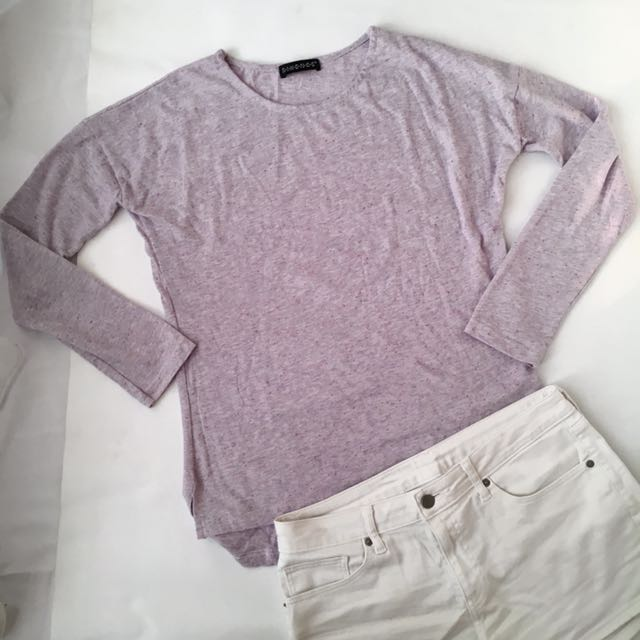 SIXENCE Purple Sweater