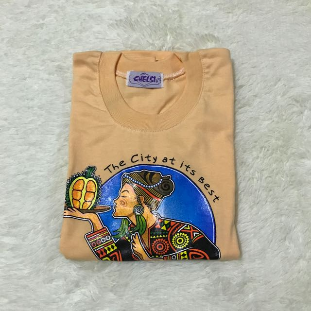 Souvenir Shirt From Davao Size 10