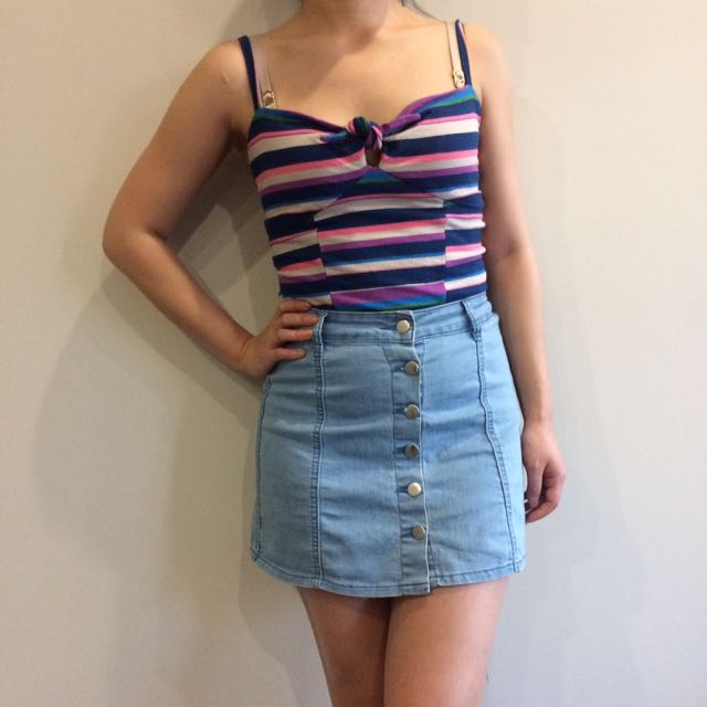 Sportsgirl Crop Top Size XS