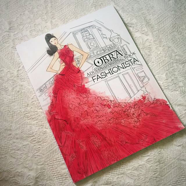 Obra Adult Coloring Book By Sterling Books Stationery On Carousell