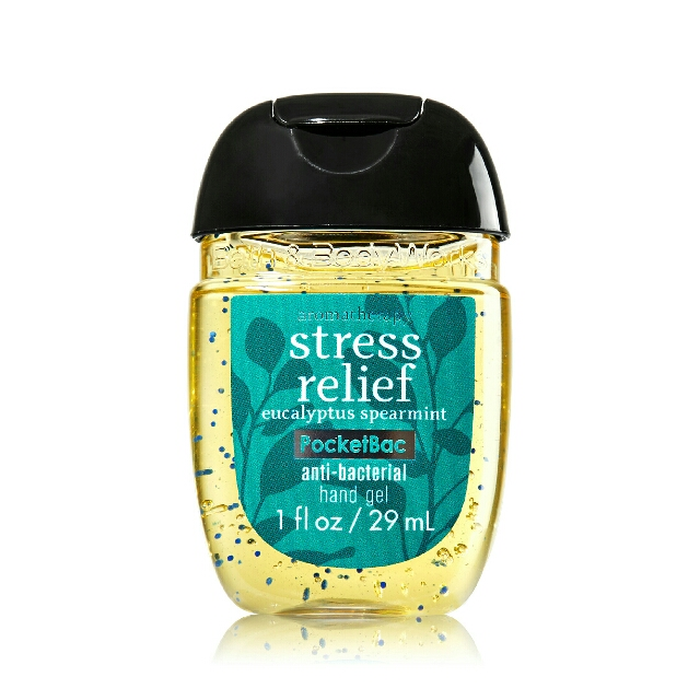 Stress Relief - Anti Bacterial Hand Gel/ Hand Sanitizer - Bath& Body Works
