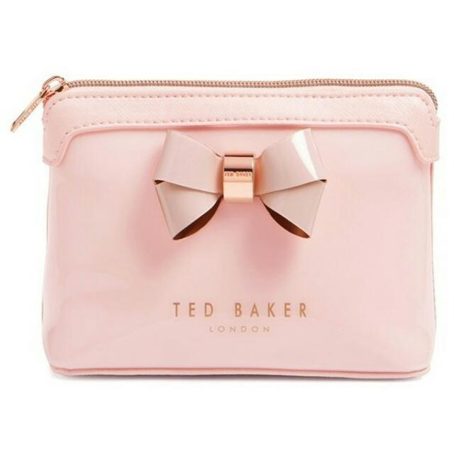 2e36c61b8a6b Ted Baker Harloe Layered Bow Makeup Bag