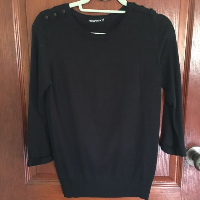 Terranova blouse (Black)