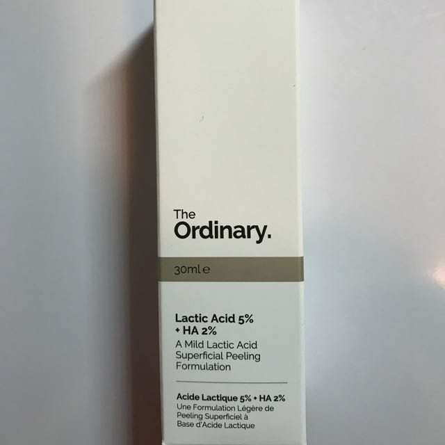 The Ordinary Lactic Acid 5%+ Ha