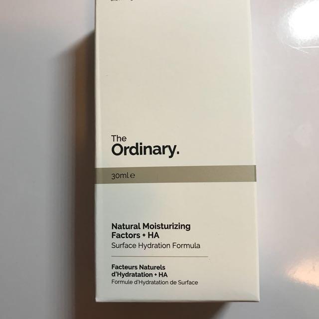 The Ordinary Natural Moisturizing  Factors HA
