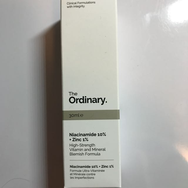The Ordinary Niacinamide 10%+Zinc 1%
