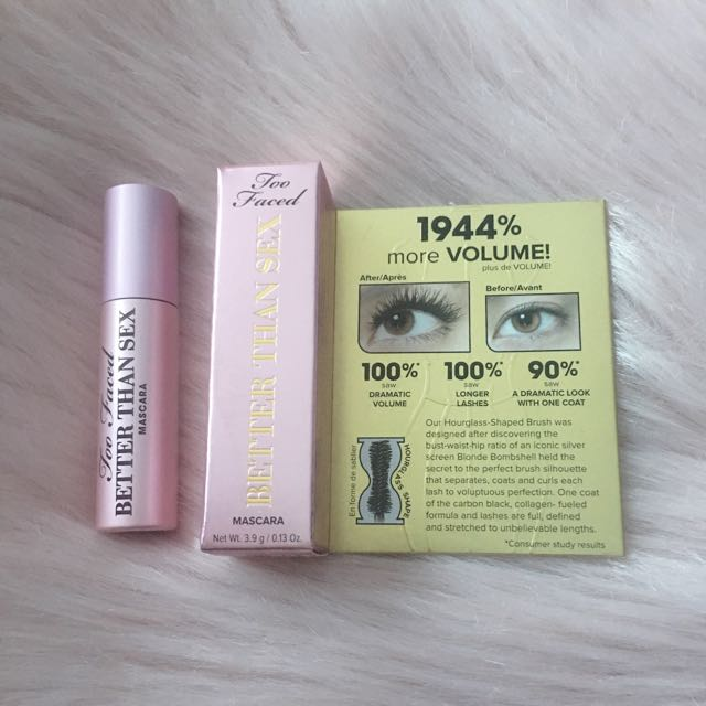 Too Faced Better Than Sex Mascara Deluxe Sample