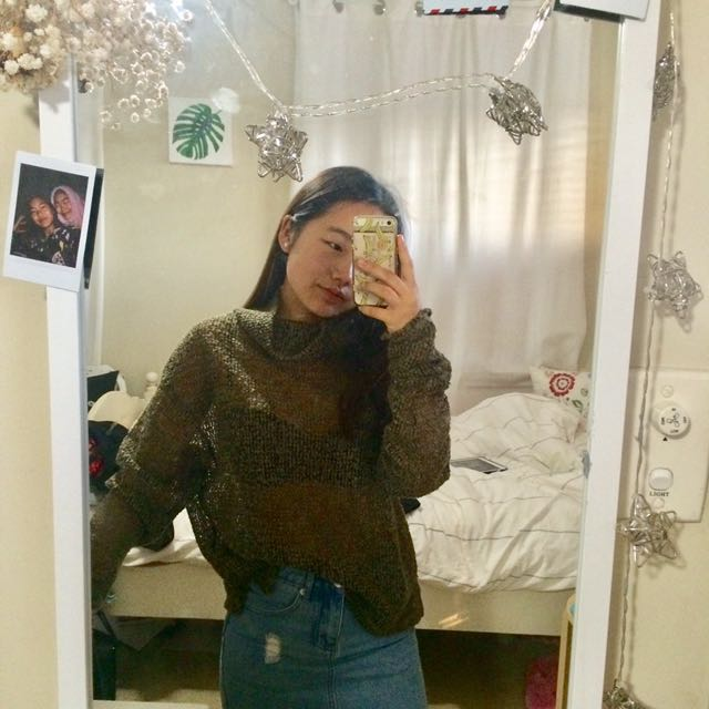 Topshop Knit Turtleneck