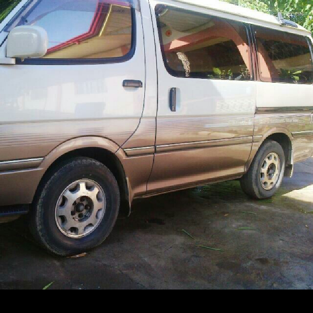297110870354 Toyota Hi Ace Super Custom Van