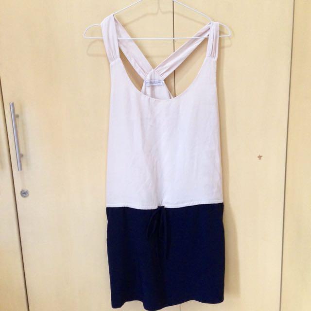 Two Tone Summer Dress