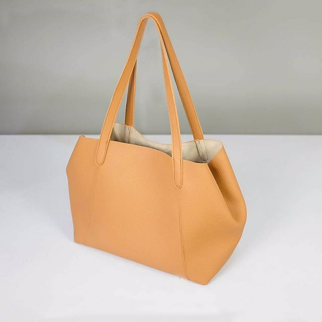 Two Way Tote Bag Used Only Once With Cloth Bag
