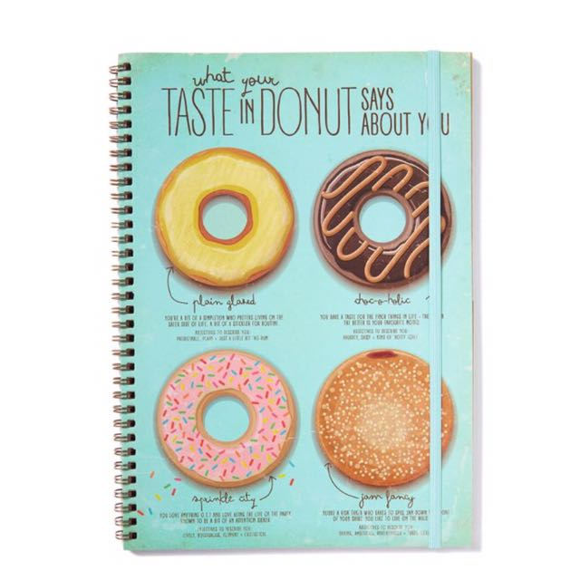Typo Notebook Size A4