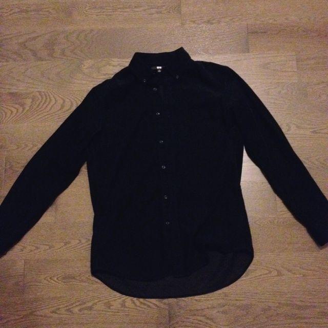 Uniqlo Corduroy Button-Up