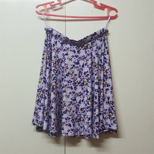Uniqlo Floral Skirt