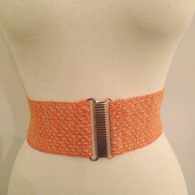Vintage 70's Waist Belt - Medium