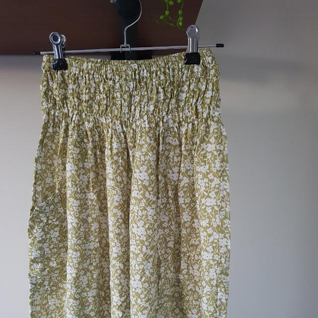 Vintage Floral Printed Boho Pants