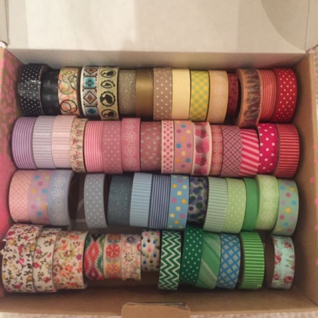Washi And Decorative Tape