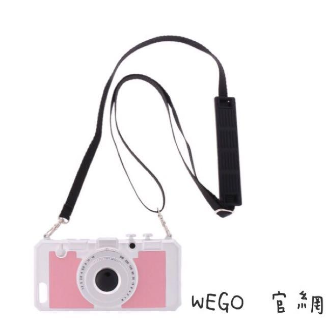 🎀日本WEGO iPhone 6/6s 手機殼(附背帶)