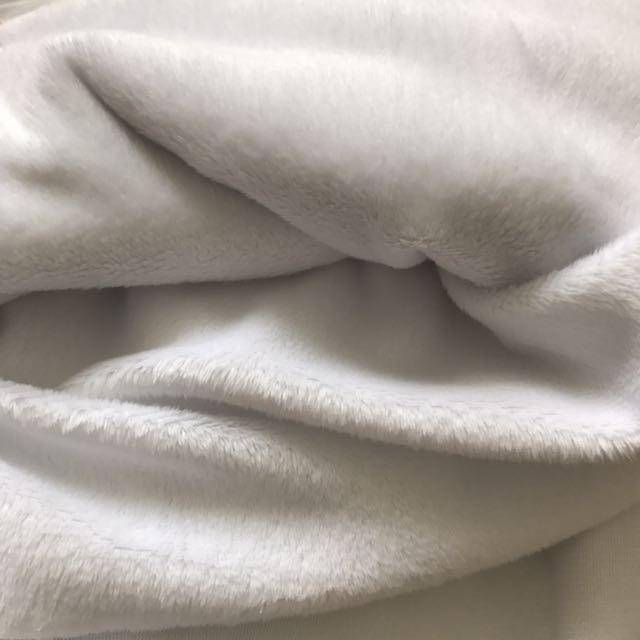 White Minky Fabric
