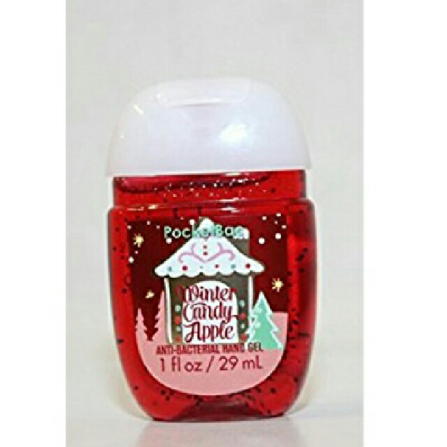 Winter Candy Apple - Anti Bacterial Hand Ge Hand Sanitizer - Bath & Body Works