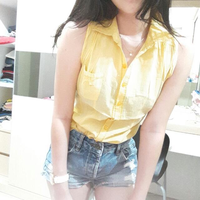 FREE ONGKIR yellow top